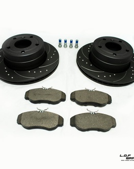 Predné brzdy na Land Rover Discovery II -  Power spec kit 99-04